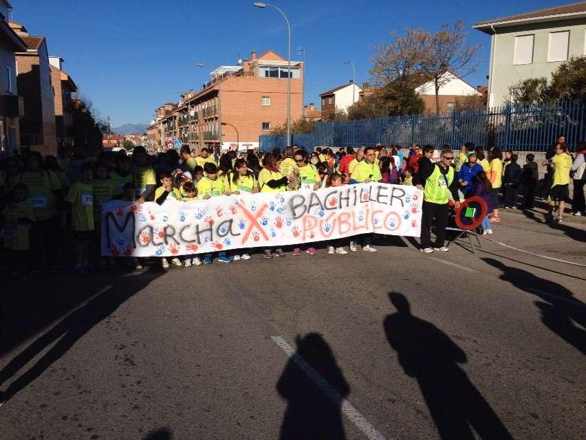 1ª MARCHA-CARRERA POR LA EDUCACIÓN EN PARACUELLOS DE JARAMA