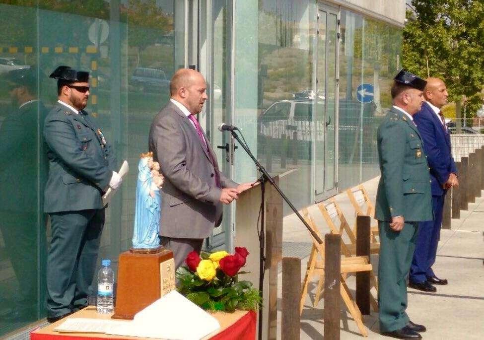 Actos celebrados con motivo de la Virgen del Pilar, patrona de la Guardia Civil