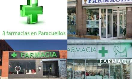 Abren 2 nuevas farmacias en Paracuellos