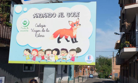 """Señalizadas las rutas del proyecto """"Andando al cole"""""""