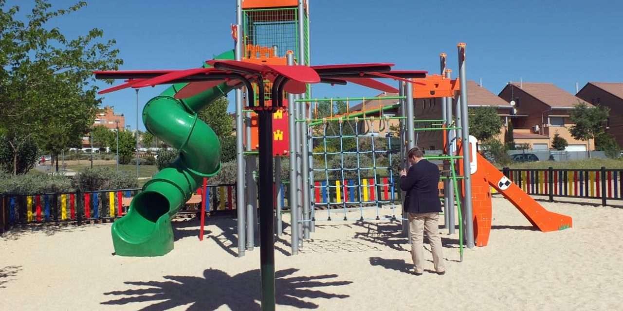 Nuevo parque municipal en la calle Cerro Domingo Vicente