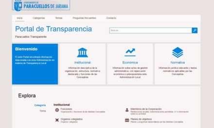 El Ayuntamiento de Paracuellos de Jarama abres su Portal de Transparencia