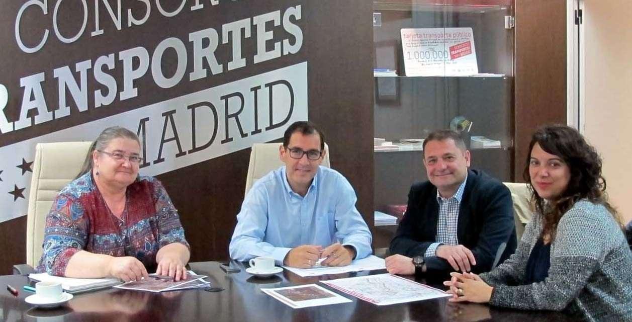 Reunión con el Consorcio de Transportes para coordinar el transporte público del municipio