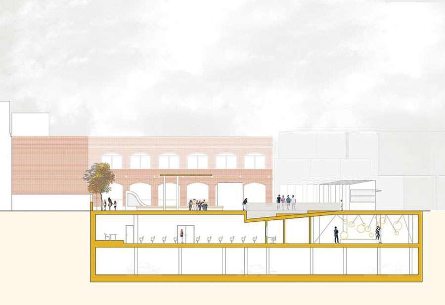 Anfiteatro y plaza