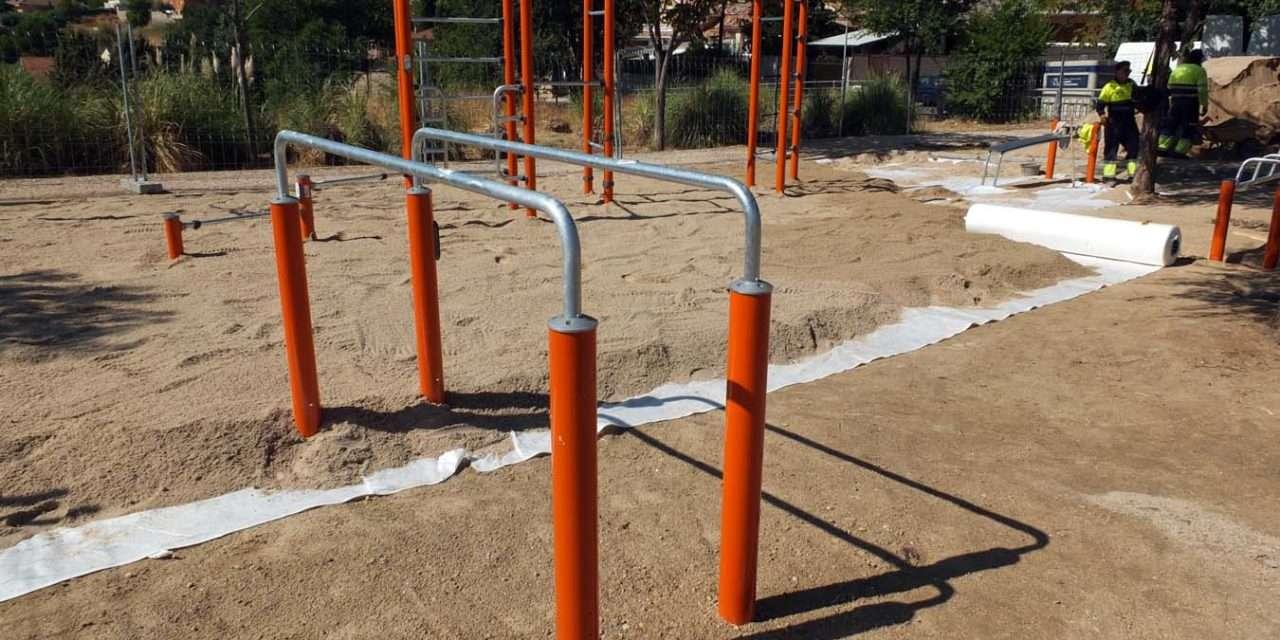 Nuevas zonas de ejercicio al aire libre en Paracuellos de Jarama