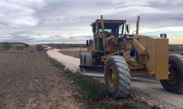 El Ayuntamiento de Paracuellos repara los caminos de la Reyerta, Lavadero, Alcalá, Granja y Torrejón