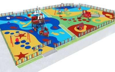 Nuevo parque municipal en el callejón de la Iglesia