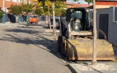 Asfaltado de varias vías del municipio