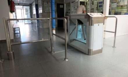 Nuevo sistema de acceso a las instalaciones del Polideportivo Municipal