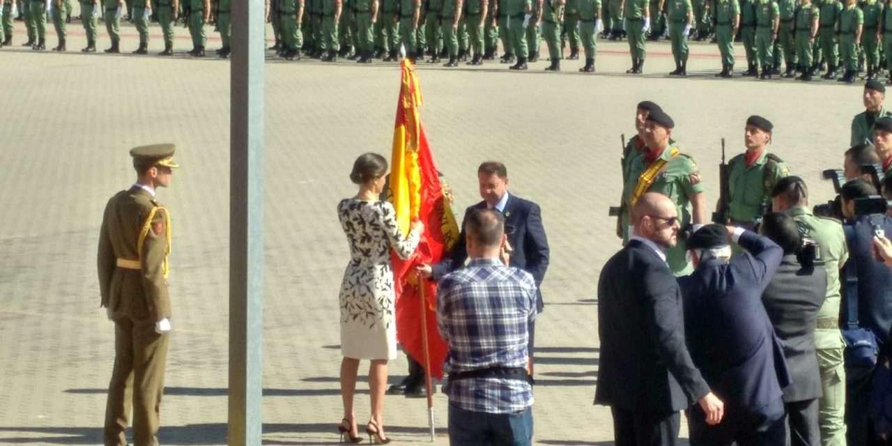 La Reina de España visita Paracuellos de Jarama