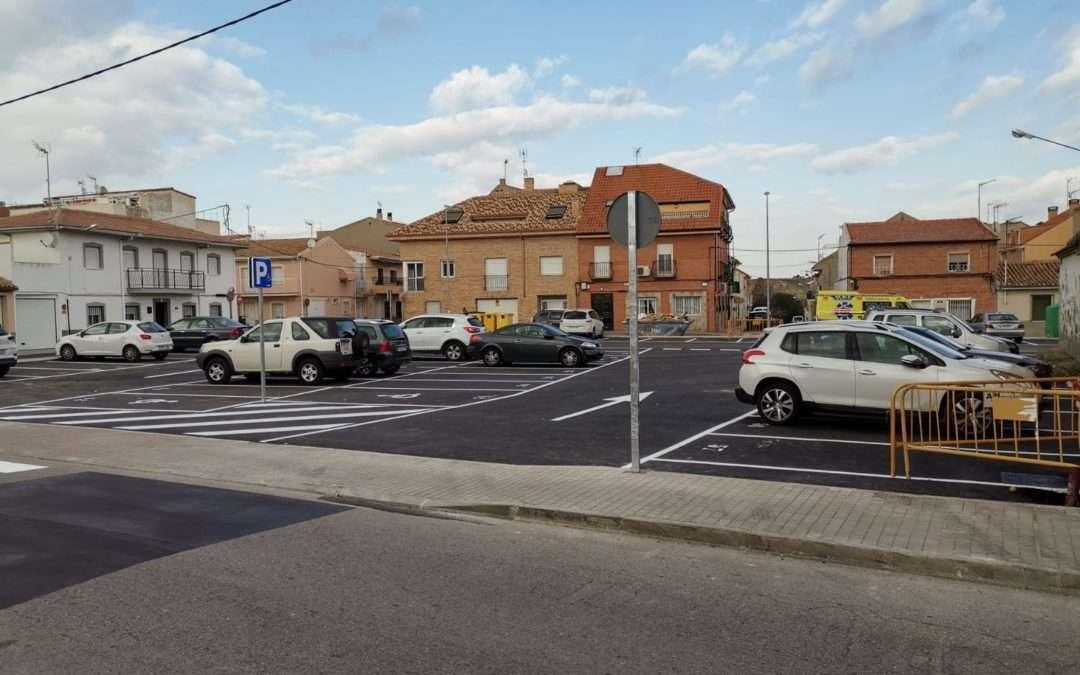 Nuevo parking gratuito en el casco urbano.