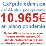 ICxP pide la dimisión del Alcalde